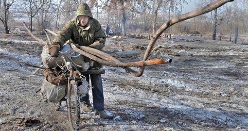 Дачники «поймали на горячем» вора, который вынес у них все имущество на металлолом - ФОТО