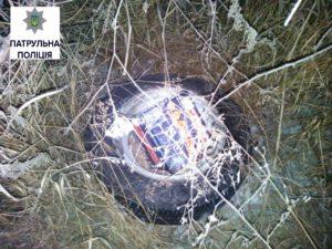 В Запорожье ночью ограбили автомобиль