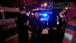 В Запорожье подполковник полиции пьяным попал в ДТП - ФОТО