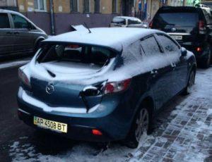 В Харькове ищут владельца запорожской Mazda - ФОТО