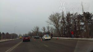 В Запорожье на Хортице произошла масштабная авария - ФОТО