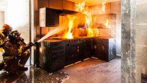 В Запорожье при пожаре пострадал подросток