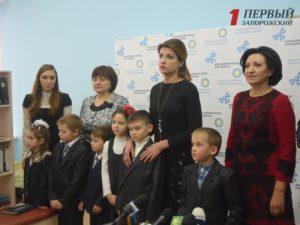 В Запорожье приехала первая леди страны Марина Порошенко - ФОТО