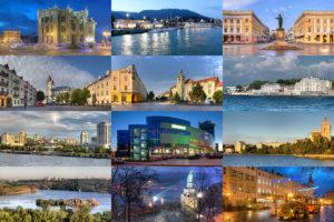 В каких городах Украины выгоднее жить - ИНФОГРАФИКА
