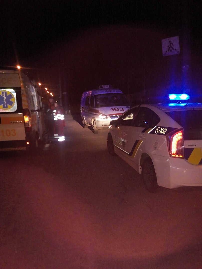 В Запорожье от удара авто пешеход пролетел несколько метров - ФОТО