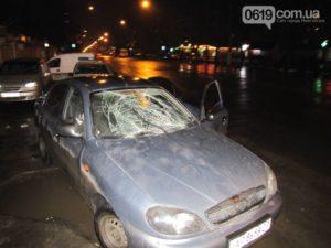 В Запорожской области водитель сбил женщину и сбежал с места ДТП - ФОТО