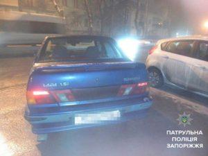 Запорожские патрульные задержали пьяного вооруженного водителя - ФОТО