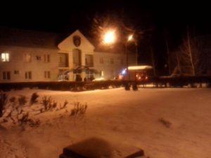 В Запорожье загорелось здание одного из райотделов полиции - фото