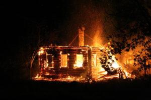 В Запорожской области во время пожара погибла пенсионерка и ее сын