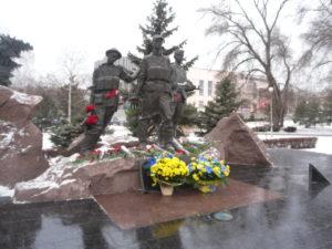 В Запорожье почтили память погибших воинов в Афганистане - фото