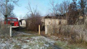 В Запорожской области во время пожара погиб владелец дома - ФОТО