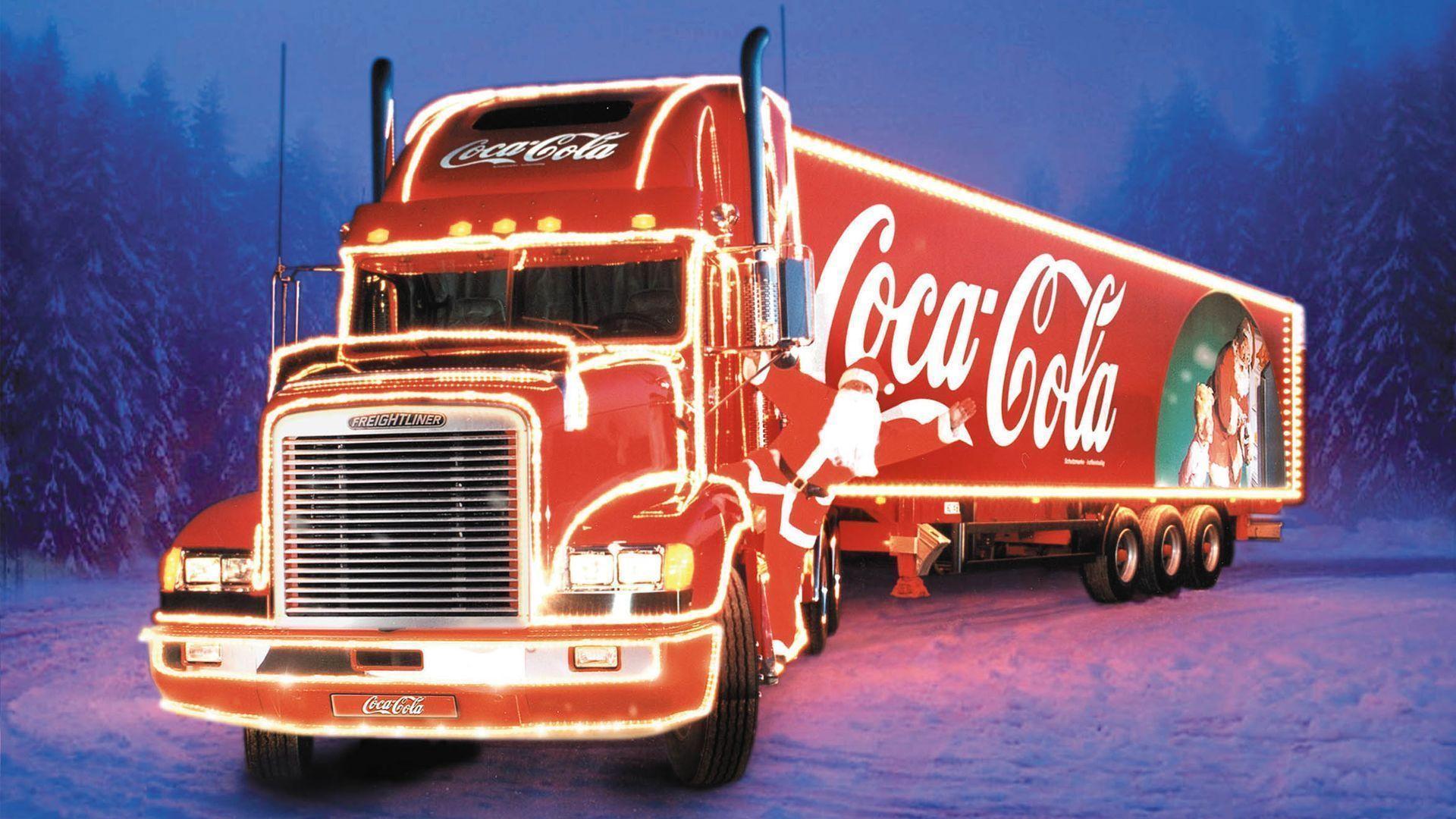 Запорожье посетил легендарный караван Coca-Cola - ВИДЕО