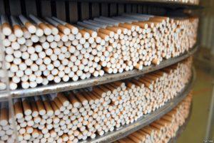 В Запорожской области изъяли контрабандные сигареты на сумму более 1 миллиона гривен