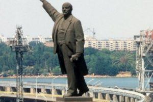 В Запорожье намерены заработать на памятнике Ленина - документ