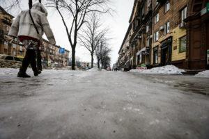 Главы райадминистраций получат выговор за ледовый каток на улицах города