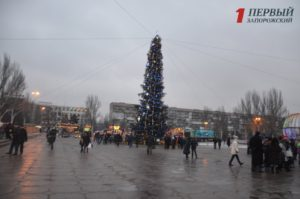 Запорожцев приглашают отметить Рождество на главной площади города