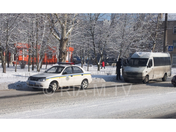 В Запорожской области маршрутка сбила пешехода - ФОТО
