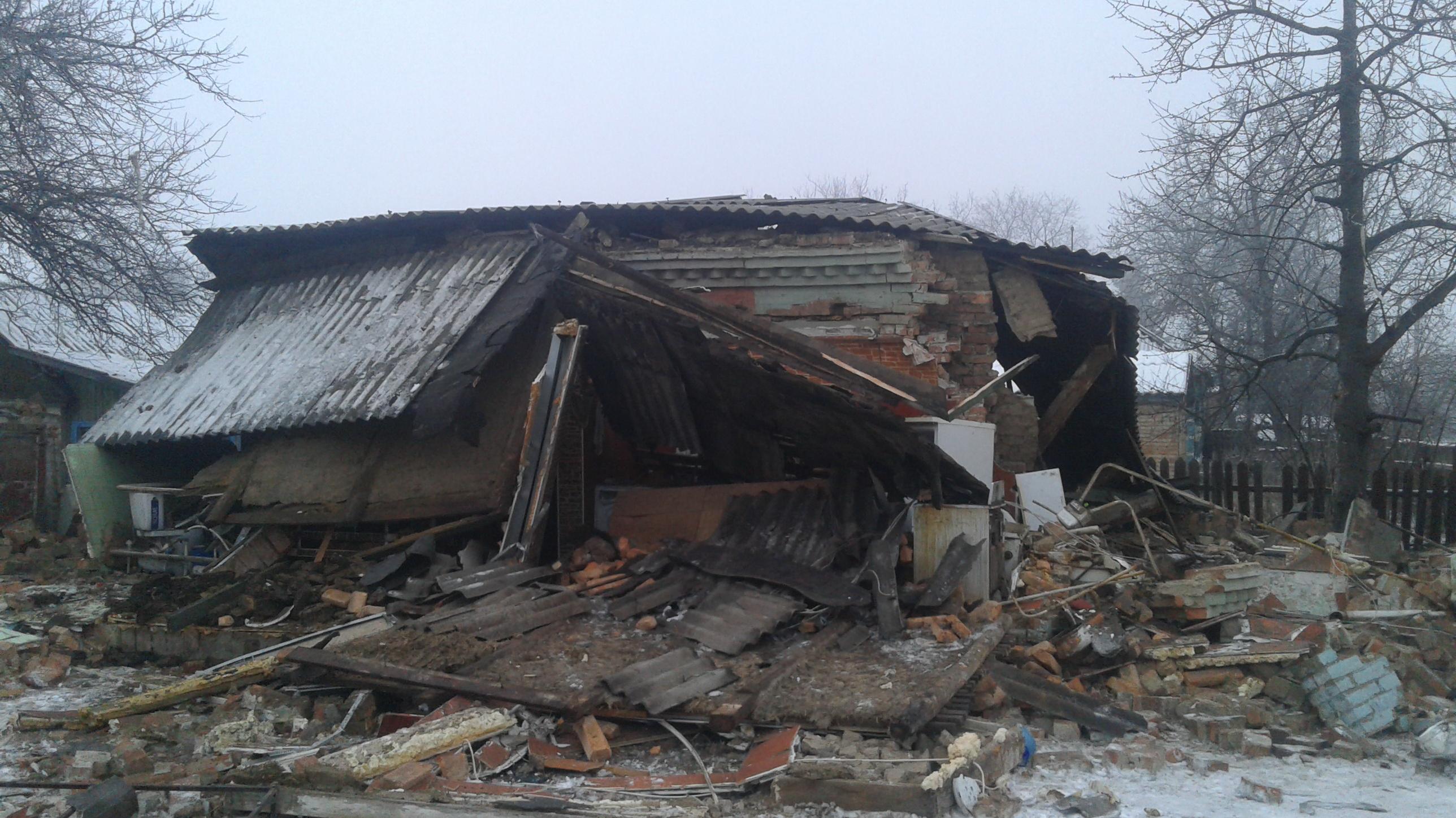 Молодой парень чудом выжил во время взрыва частного дома в Запорожской области