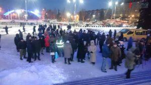 Запорожцы собираются на площади Героев, чтобы вспомнить о разгоне Майдана - ФОТО