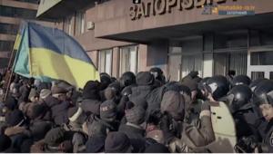В Запорожье презентовали документальный фильм о разгоне местного Майдана - ФОТО