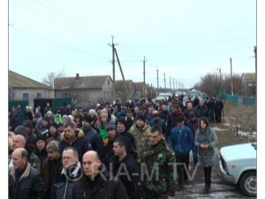 В Запорожской области простились с погибшим в страшной аварии бойцом АТО - ФОТО