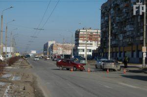 В Запорожье произошло очередное ДТП - ФОТО