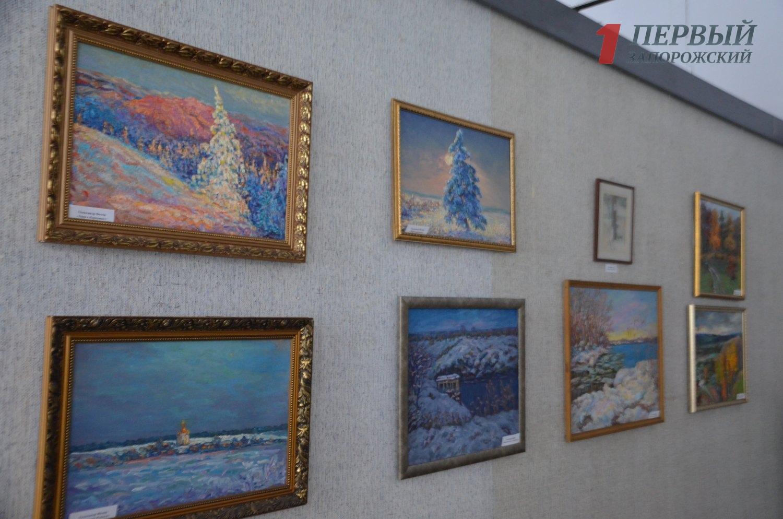 Запорожцев приглашают посмотреть рождественскую выставку