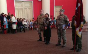 Областной краеведческий музей пополнился боевым знаменем запорожских казаков