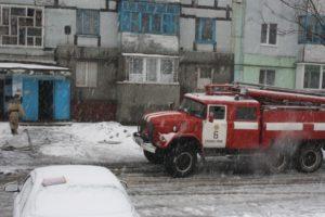 В Запорожской области горела квартира в многоэтажке - ФОТО