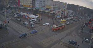 В сети появилось видео с места смертельного ДТП в Запорожье