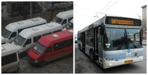 В Запорожье заменят маршрутки на большие вместительные автобусы: мнение горожан