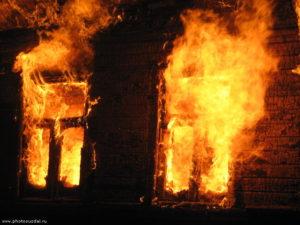 В Запорожской области пожилой мужчина погиб в огне