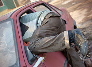 В Запорожской области орудуют автомобильные воры - ФОТО
