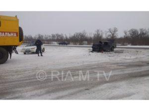 На запорожской трассе произошло смертельное ДТП - ФОТО, ВИДЕО