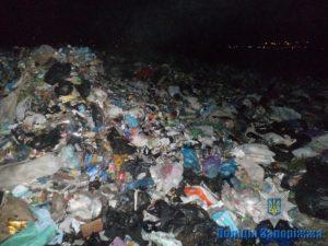 В Запорожскую область незаконно завезли более 100 тонн львовского мусора - ФОТО, ВИДЕО