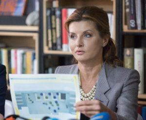 В Запорожскую область приедет Марина Порошенко