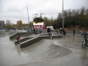В Запорожье хотят построить бетонный скейт-парк