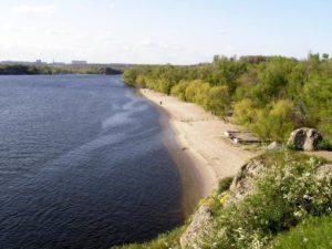 В Запорожье предлагают организовать на Хортице новый пляж