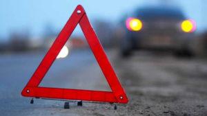 В Запорожской области водитель Mercedes съехал в кювет