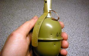 В Запорожской области мужчина бросил гранату в магазин