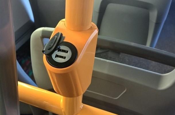 В запорожском общественном транспорте предлагают установить зарядки для гаджетов