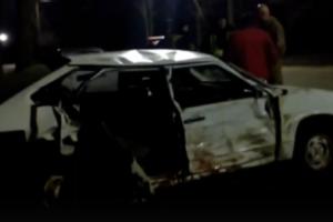 В Запорожской области в результате ДТП пострадала семья из четырех человек