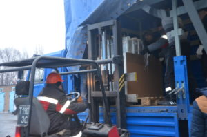В Запорожье отправили гуманитарную помощь для Авдеевки, которая поможет восстановить свет и согреться мирным жителям - ФОТО