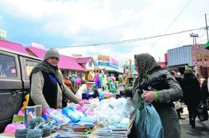 На одном из запорожских рынков покупатели расплачивались фальшивыми купюрами - ФОТО