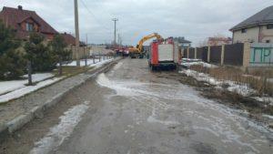 Под Запорожьем затопило элитный поселок - ФОТО