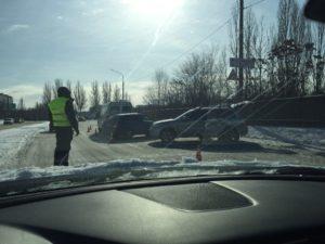 Появилось видео момента аварии на Набережной в Запорожье - ВИДЕО