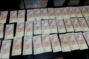 Появилось видео задержания в Запорожье майора-взяточника - ВИДЕО