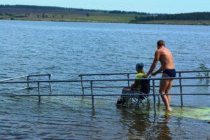В Запорожье предлагают создать пляжи для людей с ограниченными возможностями