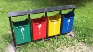 Запорожцев научат, как правильно сортировать мусор