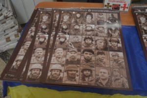 В Запорожье презентовали календарь с героями АТО - ФОТО